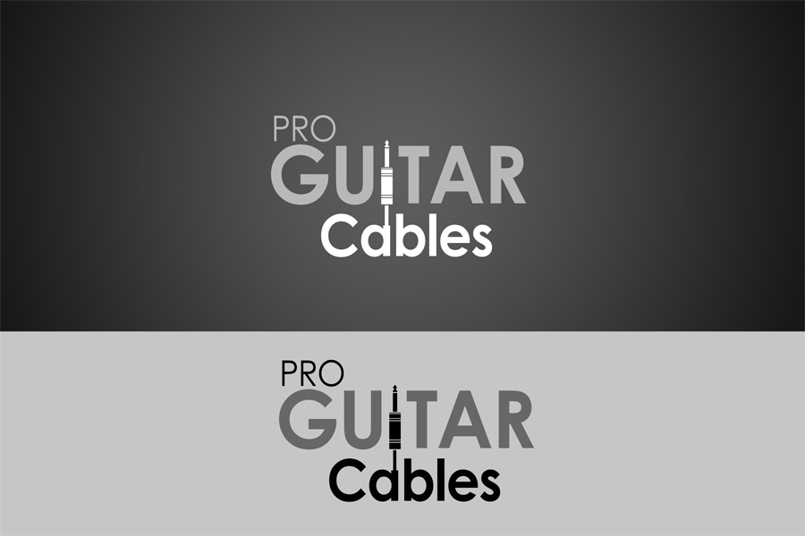 Logo Design by Private User - Entry No. 28 in the Logo Design Contest Pro Guitar Cables Logo Design.