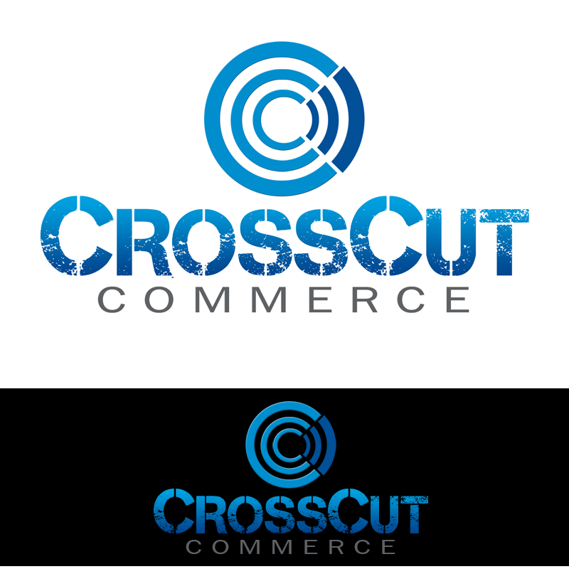 Logo Design by Robert Turla - Entry No. 5 in the Logo Design Contest New Logo Design for CrossCut Commerce.