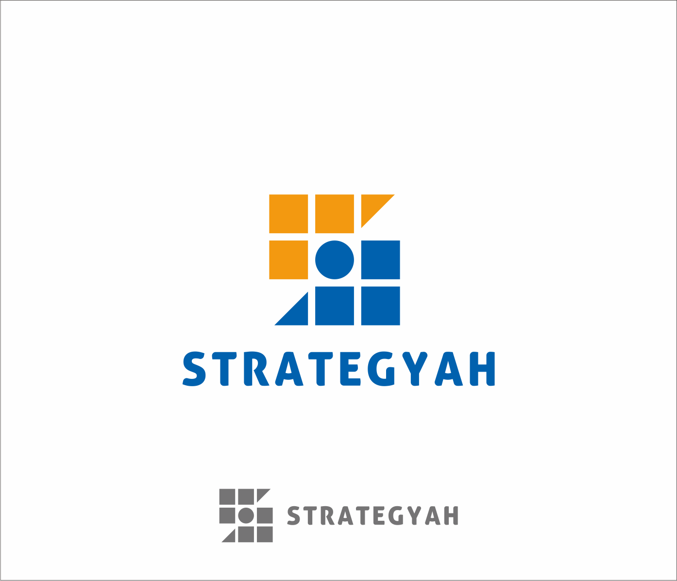 Logo Design by Armada Jamaluddin - Entry No. 345 in the Logo Design Contest Creative Logo Design for Strategyah.
