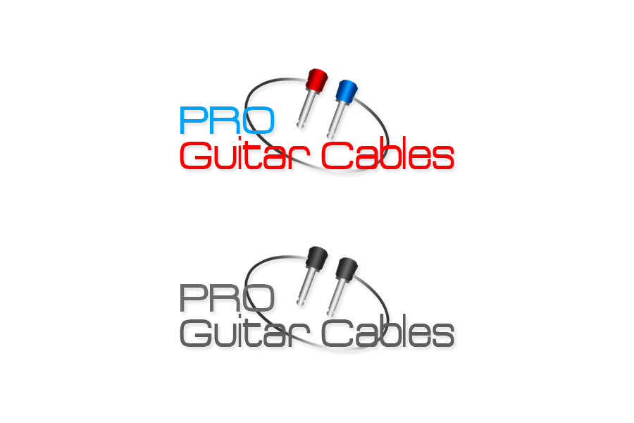 Logo Design by Private User - Entry No. 31 in the Logo Design Contest Pro Guitar Cables Logo Design.