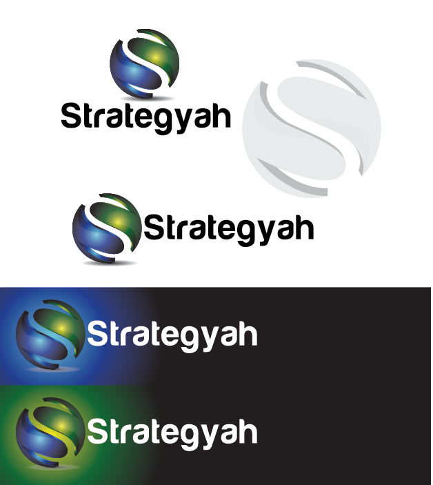 Logo Design by Private User - Entry No. 347 in the Logo Design Contest Creative Logo Design for Strategyah.