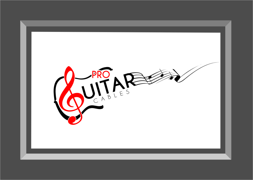 Logo Design by RasYa Muhammad Athaya - Entry No. 35 in the Logo Design Contest Pro Guitar Cables Logo Design.