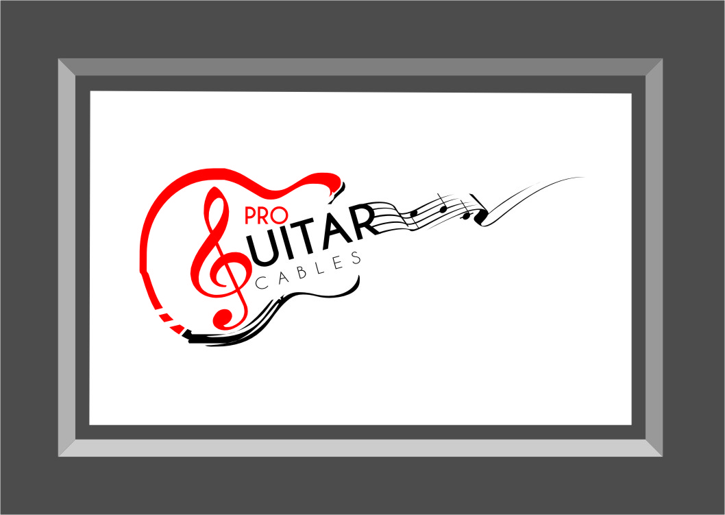 Logo Design by RasYa Muhammad Athaya - Entry No. 36 in the Logo Design Contest Pro Guitar Cables Logo Design.
