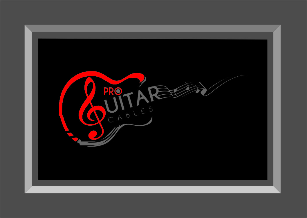 Logo Design by Ngepet_art - Entry No. 37 in the Logo Design Contest Pro Guitar Cables Logo Design.
