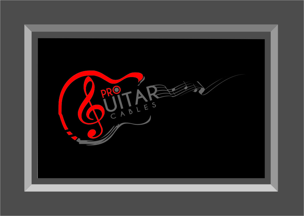 Logo Design by RasYa Muhammad Athaya - Entry No. 38 in the Logo Design Contest Pro Guitar Cables Logo Design.