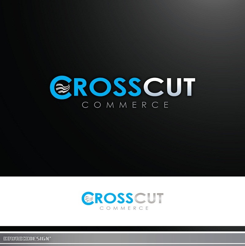 Logo Design by kowreck - Entry No. 10 in the Logo Design Contest New Logo Design for CrossCut Commerce.