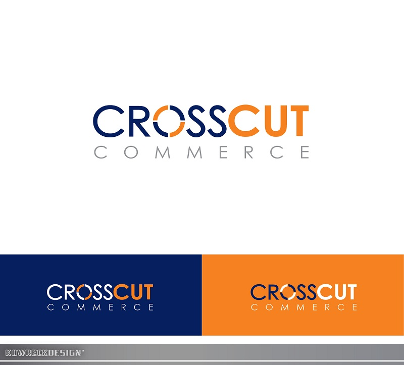 Logo Design by kowreck - Entry No. 11 in the Logo Design Contest New Logo Design for CrossCut Commerce.