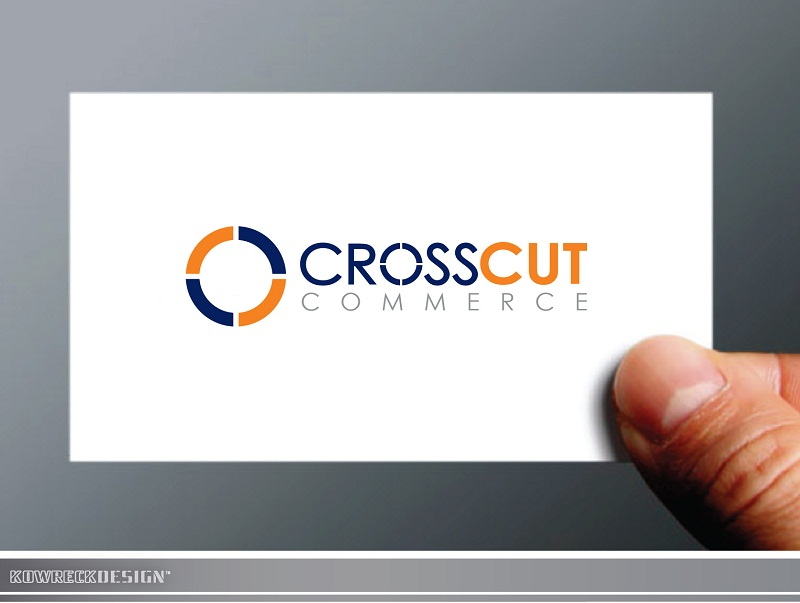 Logo Design by kowreck - Entry No. 12 in the Logo Design Contest New Logo Design for CrossCut Commerce.
