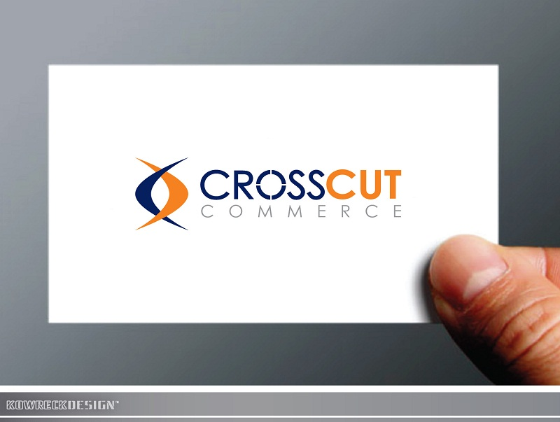 Logo Design by kowreck - Entry No. 15 in the Logo Design Contest New Logo Design for CrossCut Commerce.