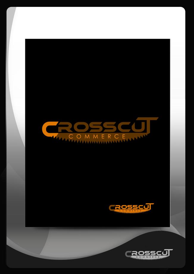 Logo Design by Mark Anthony Moreto Jordan - Entry No. 19 in the Logo Design Contest New Logo Design for CrossCut Commerce.