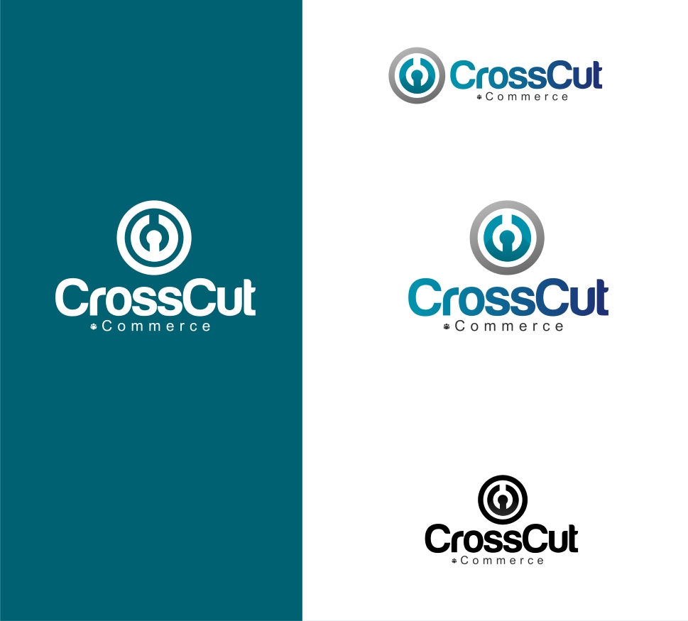 Logo Design by Private User - Entry No. 20 in the Logo Design Contest New Logo Design for CrossCut Commerce.