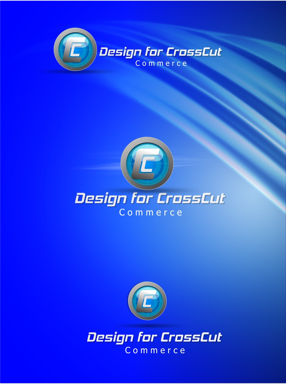Logo Design by Private User - Entry No. 21 in the Logo Design Contest New Logo Design for CrossCut Commerce.