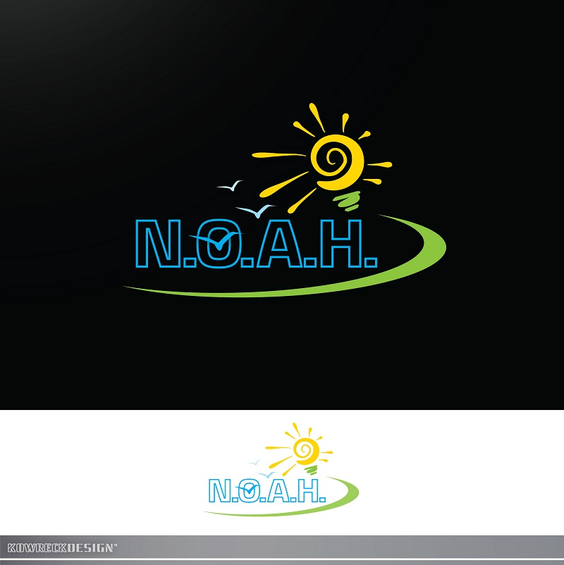 Logo Design by kowreck - Entry No. 11 in the Logo Design Contest Fun Logo Design for N.O.A.H..