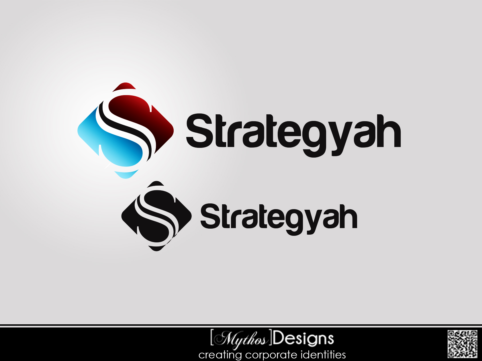 Logo Design by Mythos Designs - Entry No. 399 in the Logo Design Contest Creative Logo Design for Strategyah.