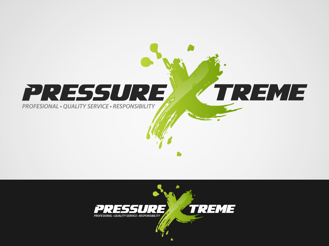 Logo Design by jpbituin - Entry No. 25 in the Logo Design Contest New Logo Design for PRESSUREXTREME.