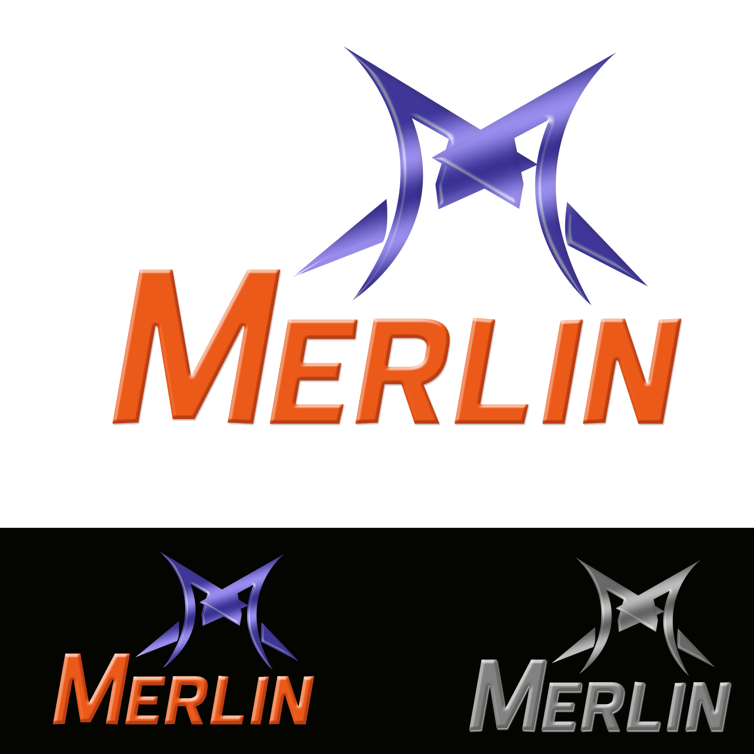 Logo Design by Roberto Sibbaluca - Entry No. 8 in the Logo Design Contest Imaginative Logo Design for Merlin.