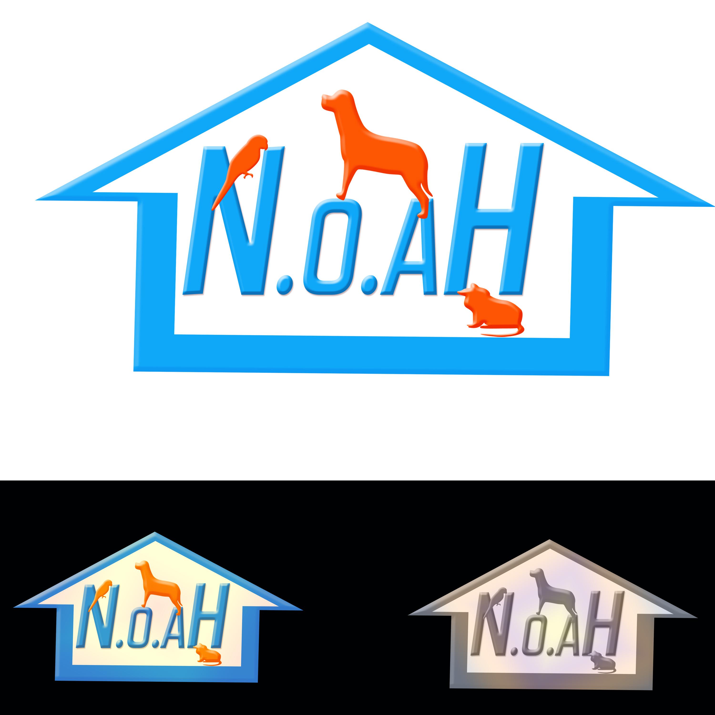 Logo Design by Roberto Sibbaluca - Entry No. 17 in the Logo Design Contest Fun Logo Design for N.O.A.H..