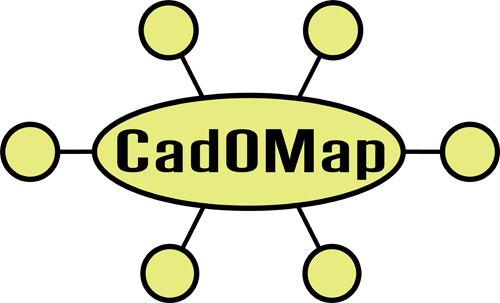 Logo Design by Lefky - Entry No. 172 in the Logo Design Contest Captivating Logo Design for CadOMap software product.