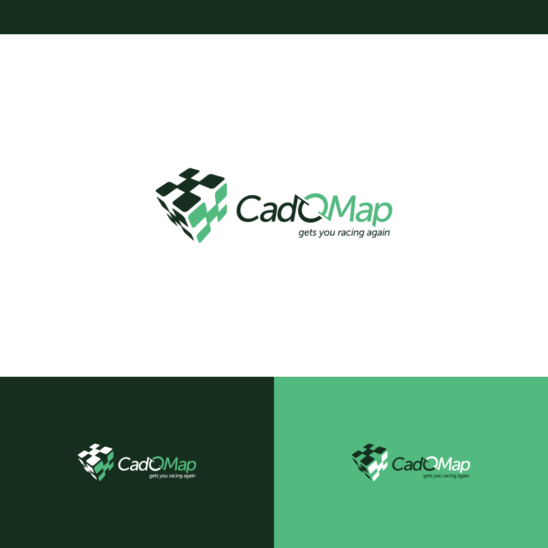 Logo Design by Private User - Entry No. 173 in the Logo Design Contest Captivating Logo Design for CadOMap software product.