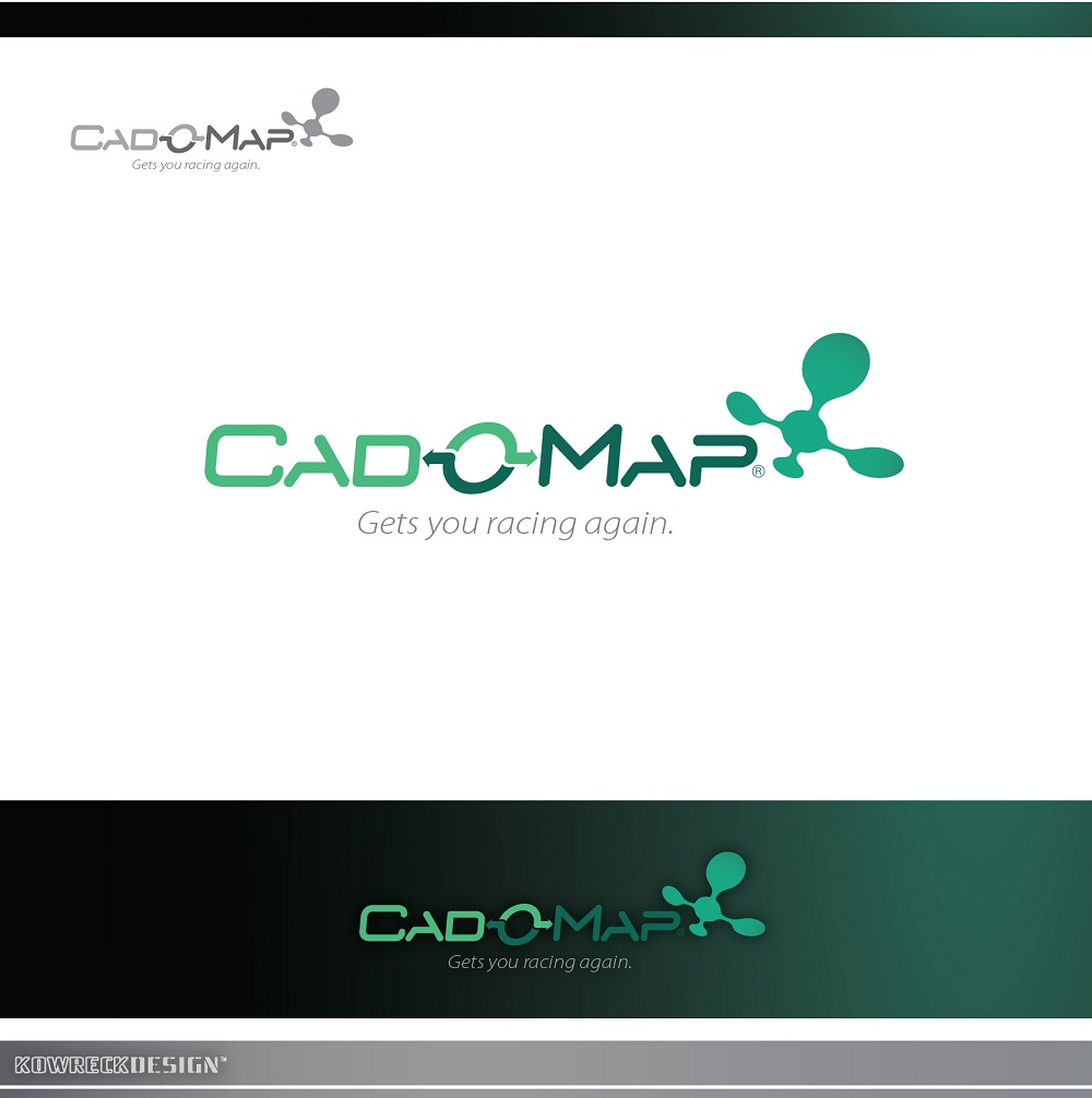 Logo Design by kowreck - Entry No. 176 in the Logo Design Contest Captivating Logo Design for CadOMap software product.