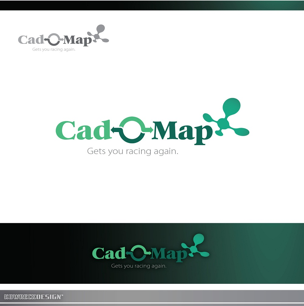 Logo Design by kowreck - Entry No. 177 in the Logo Design Contest Captivating Logo Design for CadOMap software product.