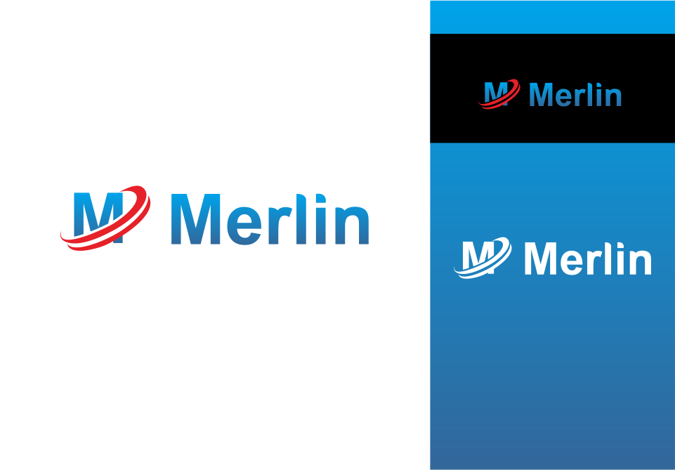 Logo Design by Mitchnick Sunardi - Entry No. 10 in the Logo Design Contest Imaginative Logo Design for Merlin.