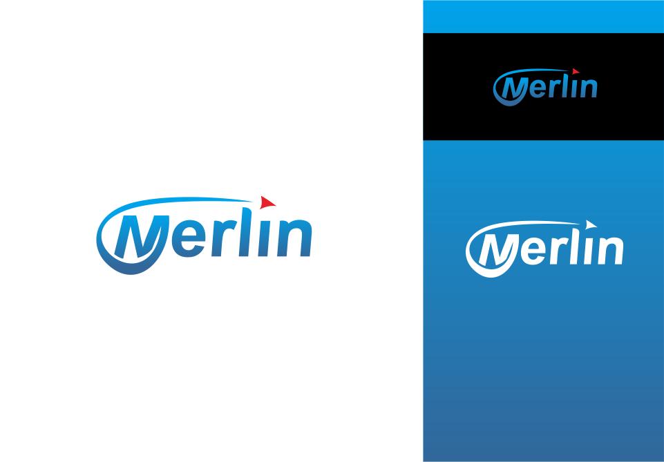 Logo Design by Mitchnick Sunardi - Entry No. 11 in the Logo Design Contest Imaginative Logo Design for Merlin.