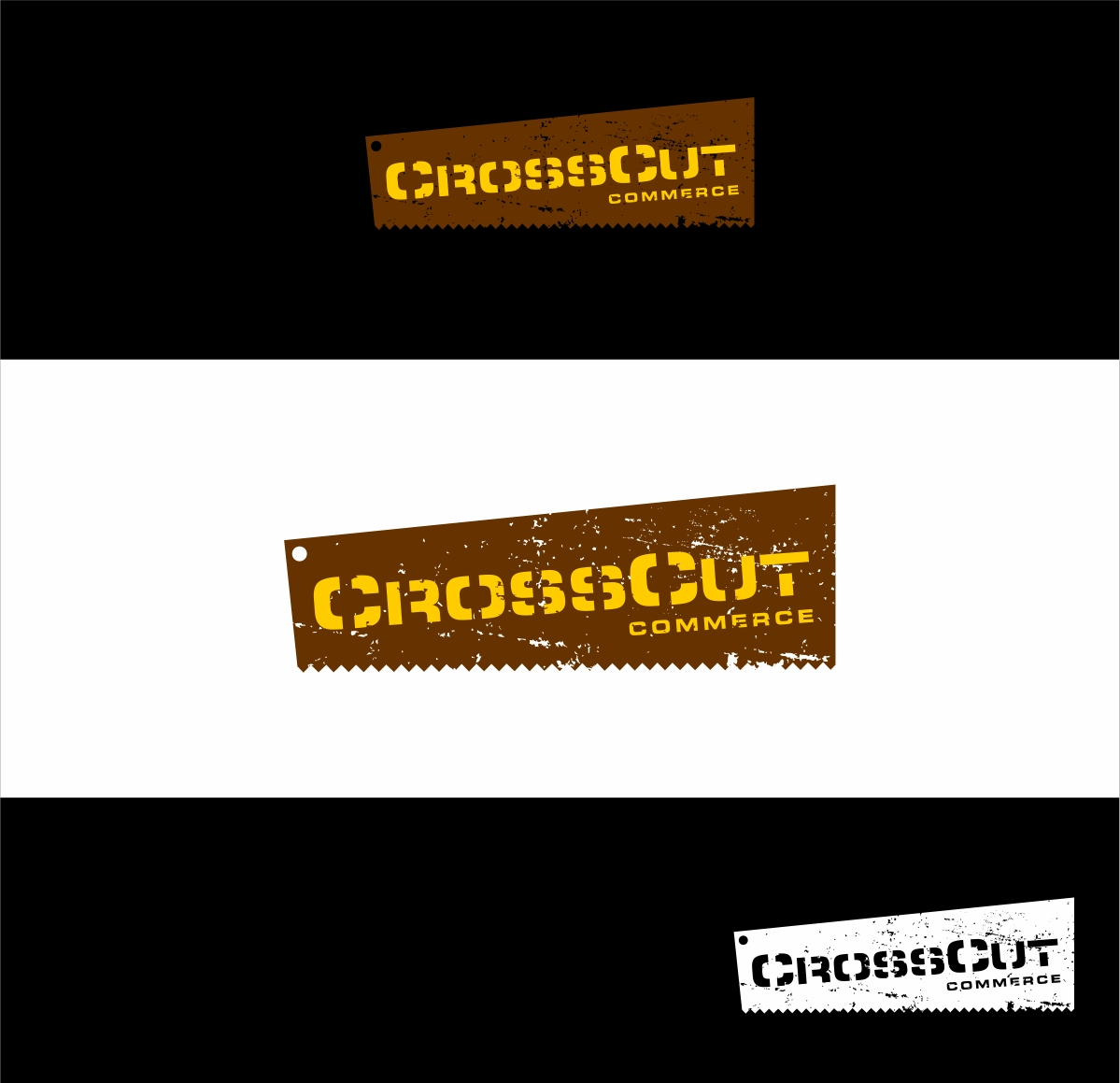 Logo Design by haidu - Entry No. 23 in the Logo Design Contest New Logo Design for CrossCut Commerce.