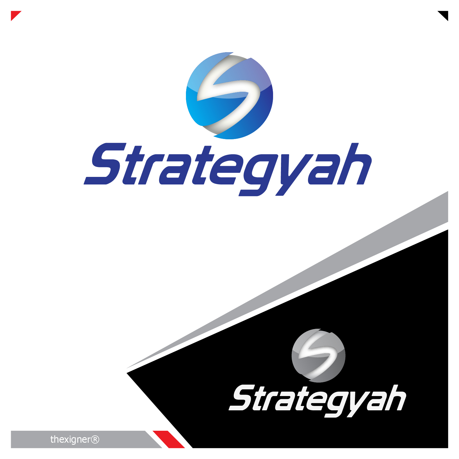 Logo Design by lagalag - Entry No. 429 in the Logo Design Contest Creative Logo Design for Strategyah.