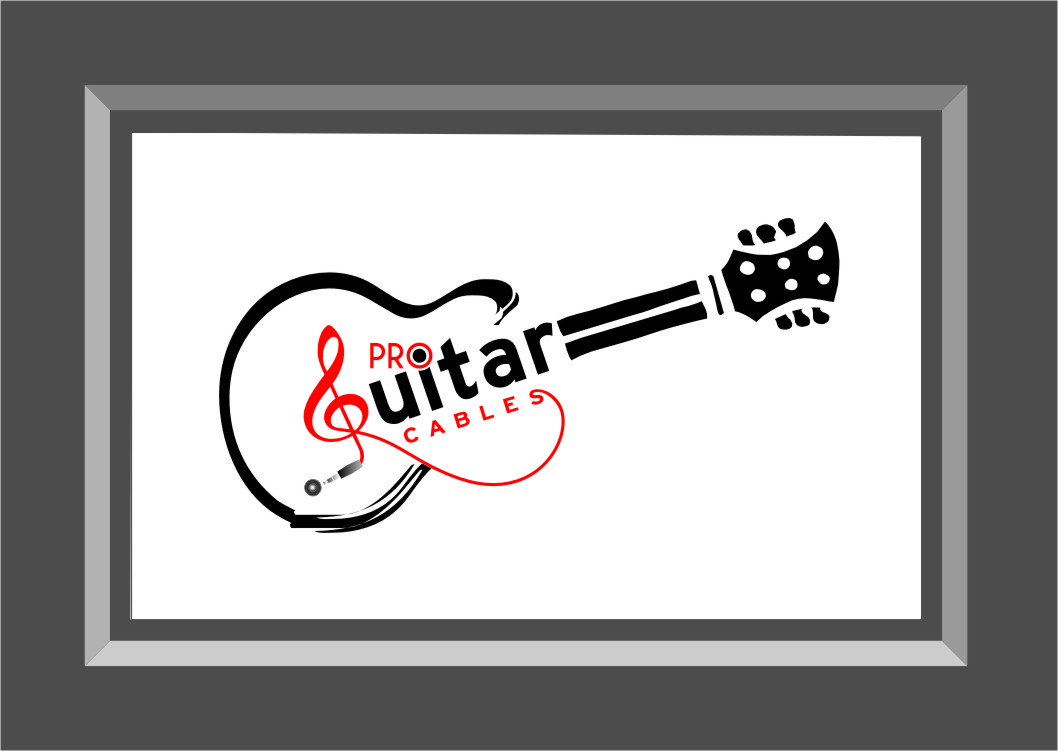 Logo Design by RasYa Muhammad Athaya - Entry No. 41 in the Logo Design Contest Pro Guitar Cables Logo Design.