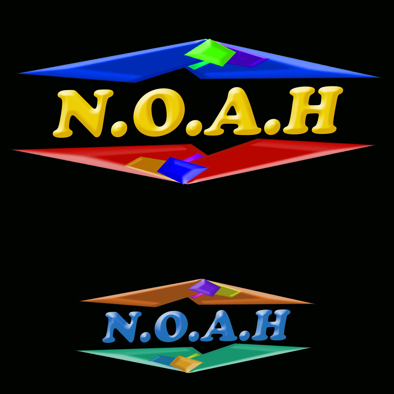Logo Design by Roberto Sibbaluca - Entry No. 23 in the Logo Design Contest Fun Logo Design for N.O.A.H..