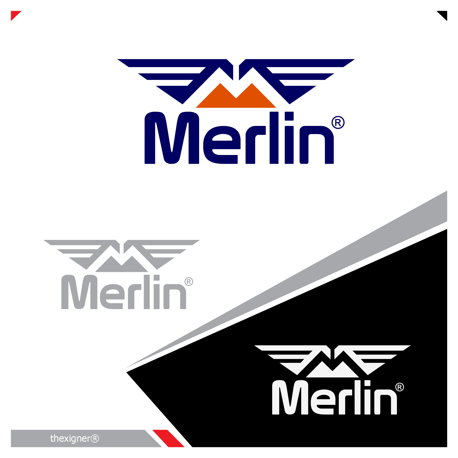 Logo Design by lagalag - Entry No. 22 in the Logo Design Contest Imaginative Logo Design for Merlin.