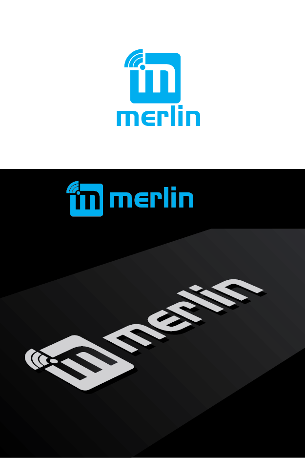 Logo Design by Private User - Entry No. 23 in the Logo Design Contest Imaginative Logo Design for Merlin.
