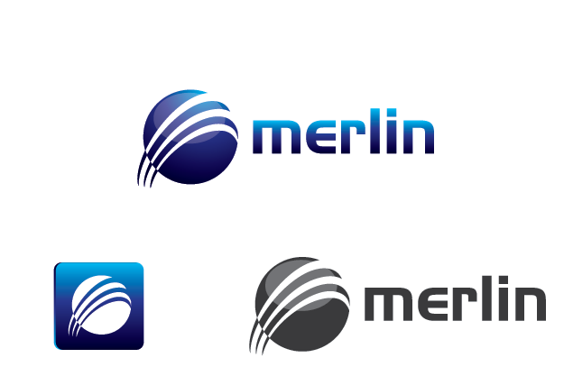 Logo Design by Private User - Entry No. 24 in the Logo Design Contest Imaginative Logo Design for Merlin.
