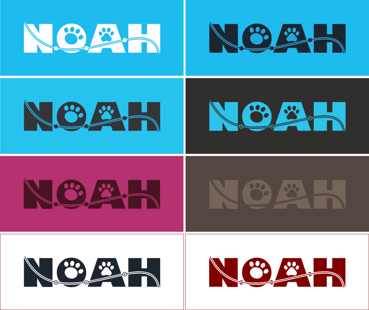 Logo Design by Mikel Iturbide - Entry No. 25 in the Logo Design Contest Fun Logo Design for N.O.A.H..