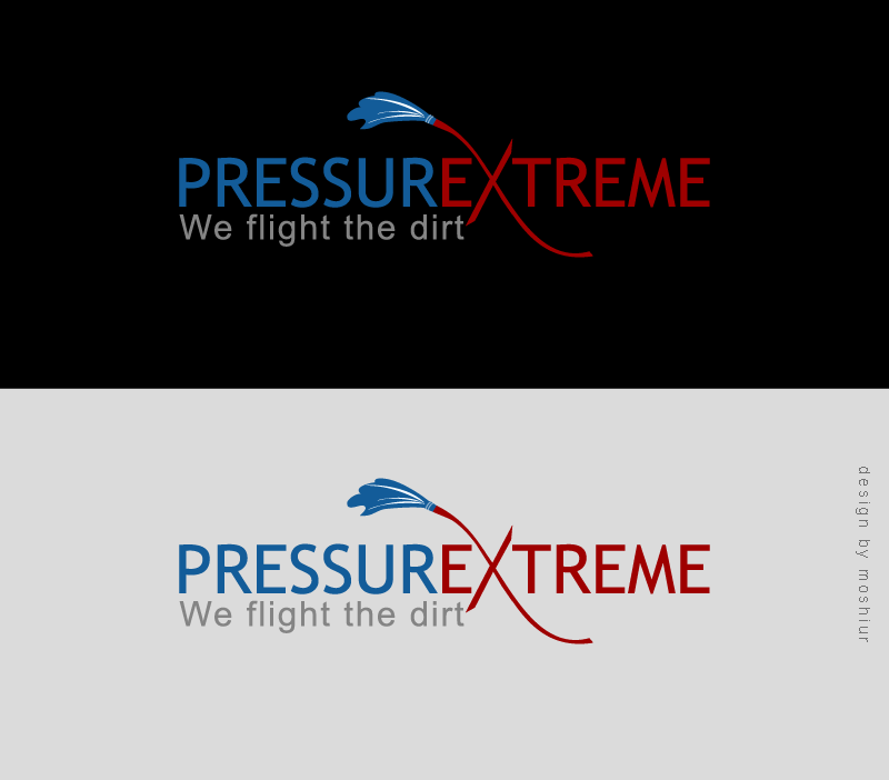 Logo Design by Moshiur Rahman - Entry No. 31 in the Logo Design Contest New Logo Design for PRESSUREXTREME.