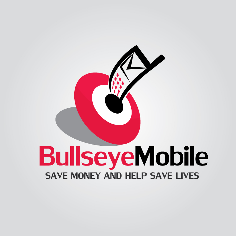 Logo Design by Subha Islam - Entry No. 36 in the Logo Design Contest Bullseye Mobile.