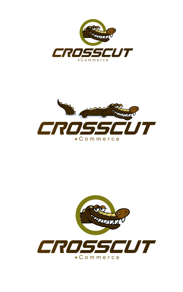Logo Design by Private User - Entry No. 30 in the Logo Design Contest New Logo Design for CrossCut Commerce.