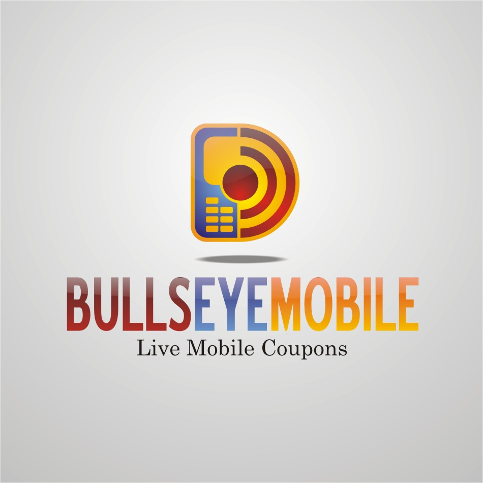 Logo Design by b49us - Entry No. 37 in the Logo Design Contest Bullseye Mobile.