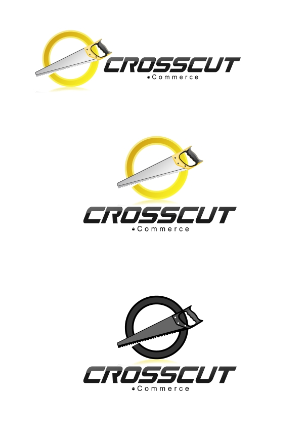 Logo Design by Private User - Entry No. 31 in the Logo Design Contest New Logo Design for CrossCut Commerce.