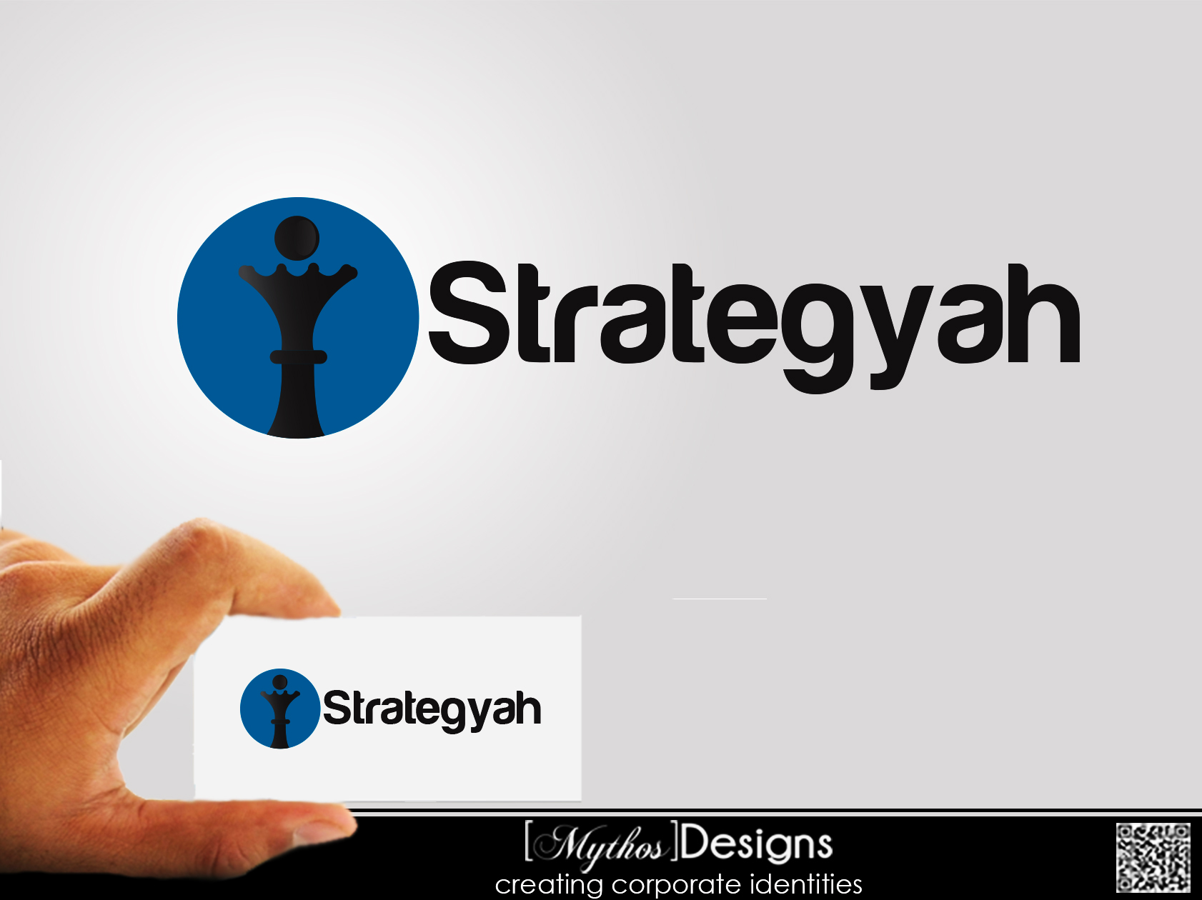 Logo Design by Mythos Designs - Entry No. 473 in the Logo Design Contest Creative Logo Design for Strategyah.