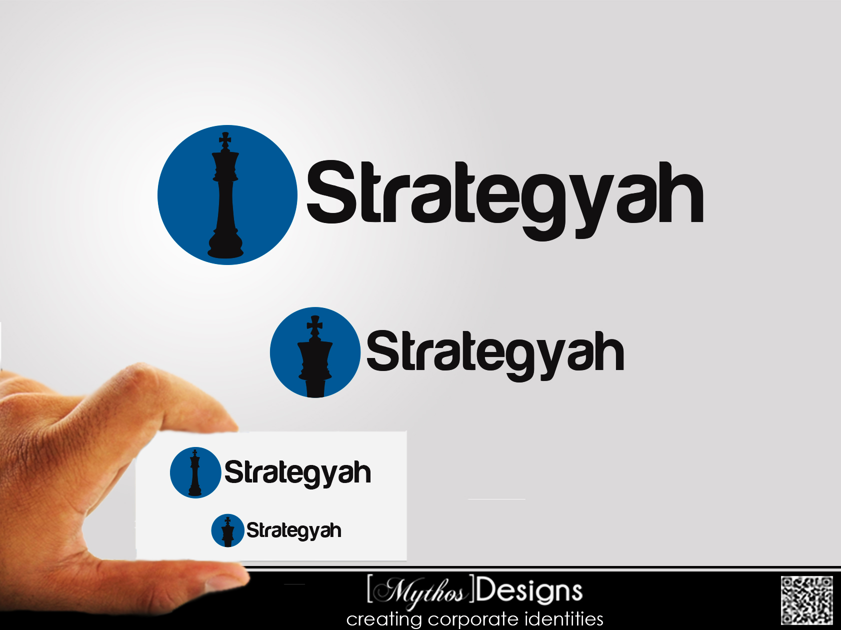 Logo Design by Mythos Designs - Entry No. 476 in the Logo Design Contest Creative Logo Design for Strategyah.