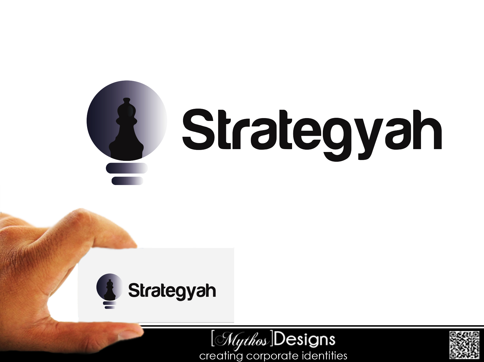 Logo Design by Mythos Designs - Entry No. 477 in the Logo Design Contest Creative Logo Design for Strategyah.