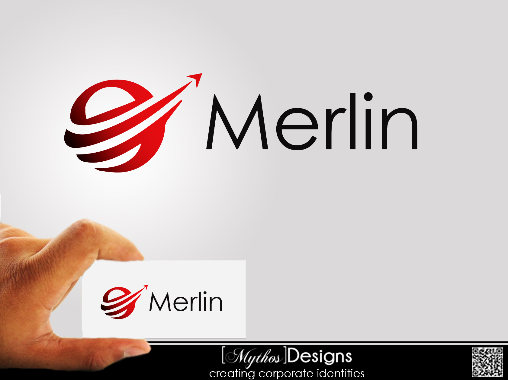 Logo Design by Mythos Designs - Entry No. 25 in the Logo Design Contest Imaginative Logo Design for Merlin.