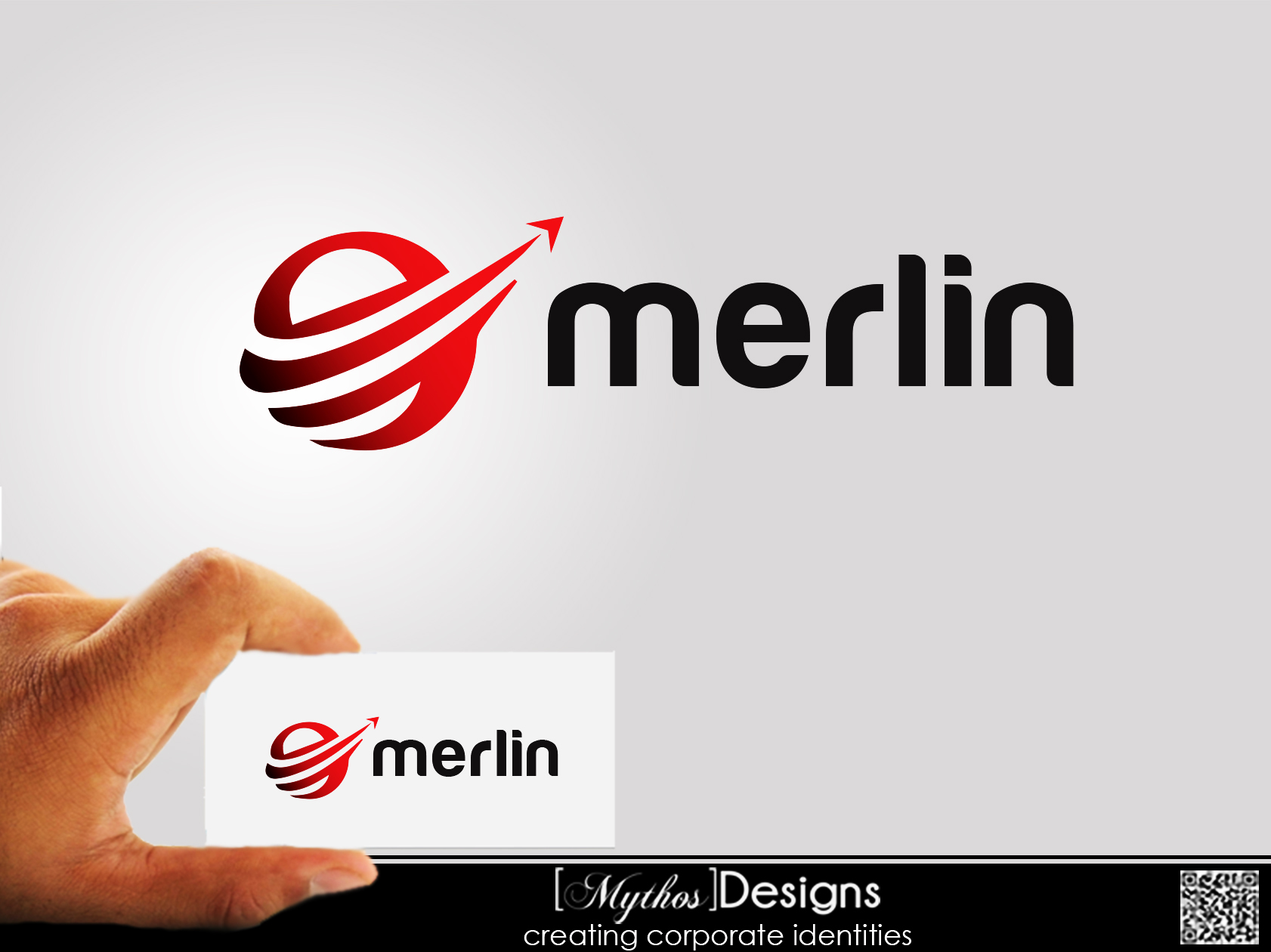 Logo Design by Mythos Designs - Entry No. 26 in the Logo Design Contest Imaginative Logo Design for Merlin.