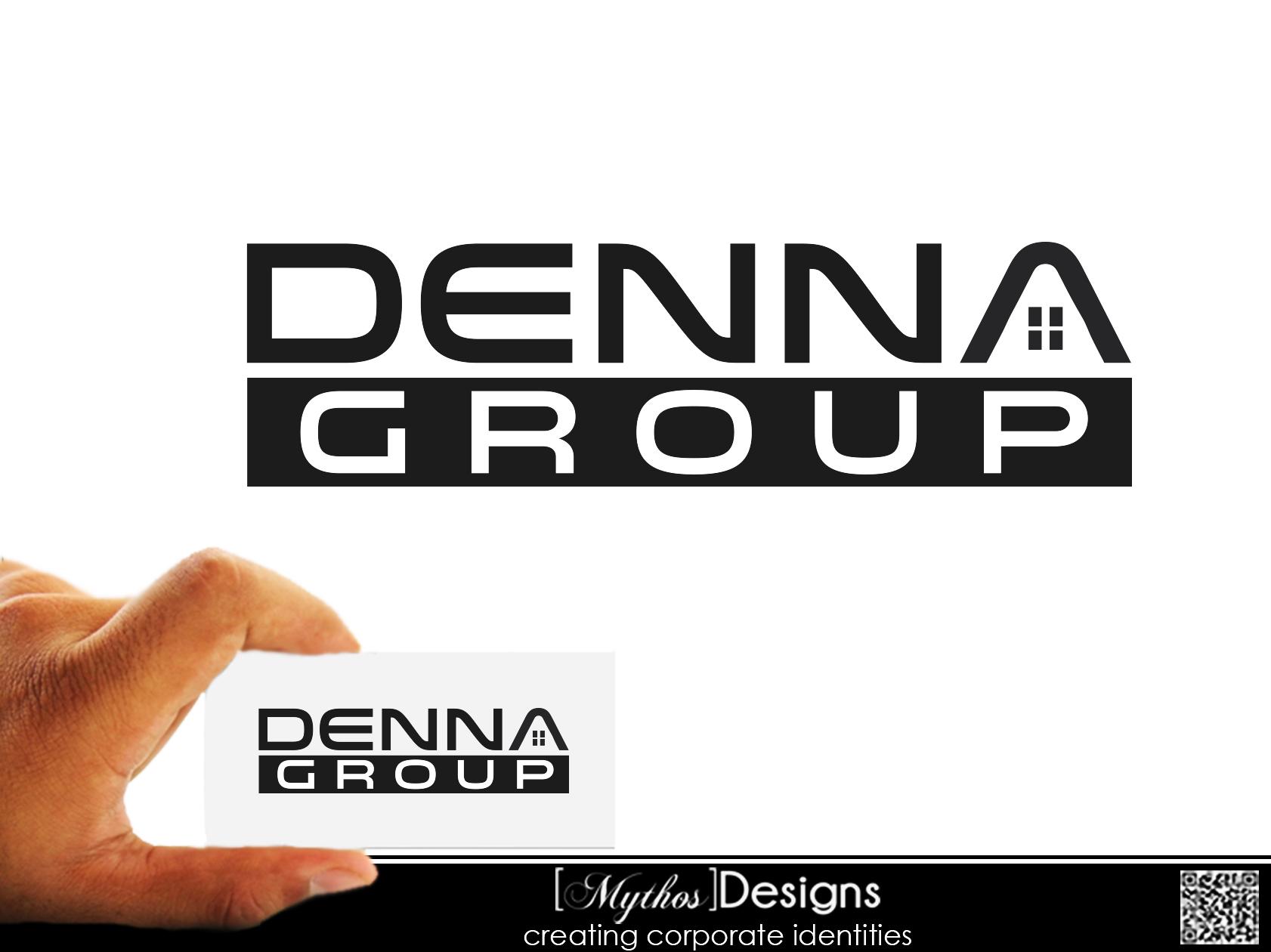 Logo Design by Mythos Designs - Entry No. 248 in the Logo Design Contest Denna Group Logo Design.