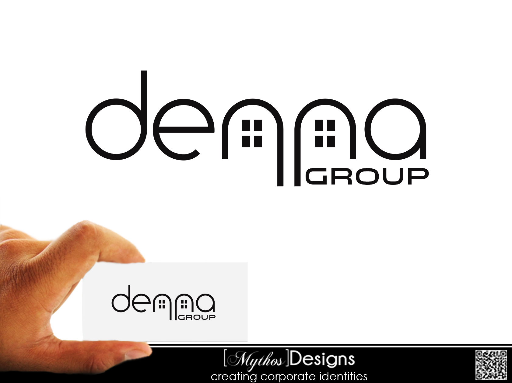 Logo Design by Mythos Designs - Entry No. 249 in the Logo Design Contest Denna Group Logo Design.