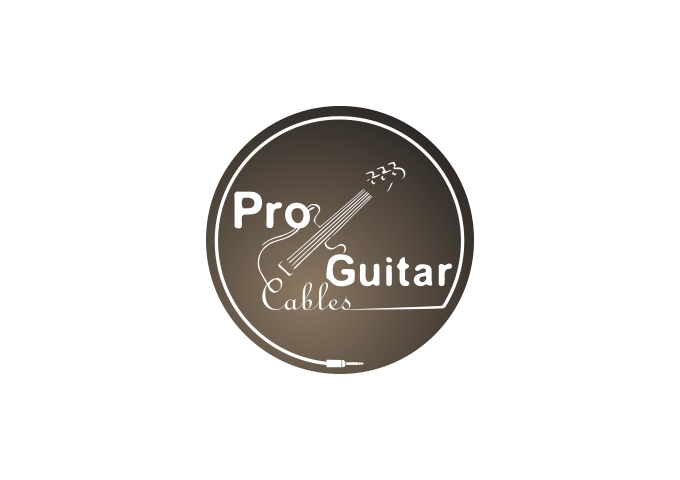 Logo Design by Rizwan Saeed - Entry No. 51 in the Logo Design Contest Pro Guitar Cables Logo Design.