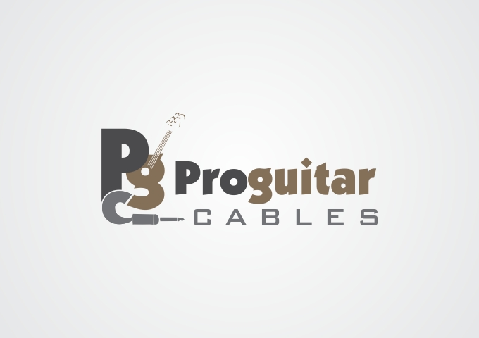 Logo Design by Rizwan Saeed - Entry No. 52 in the Logo Design Contest Pro Guitar Cables Logo Design.
