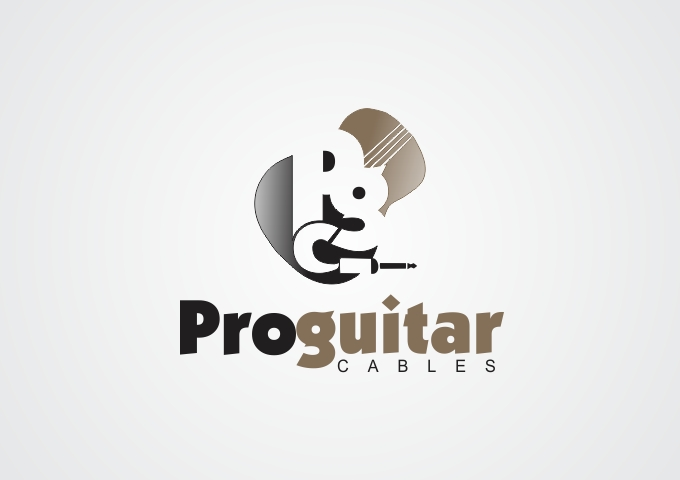 Logo Design by Rizwan Saeed - Entry No. 53 in the Logo Design Contest Pro Guitar Cables Logo Design.